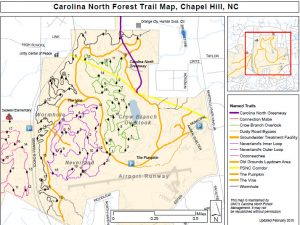 Carolina North Map