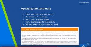 update zestimate