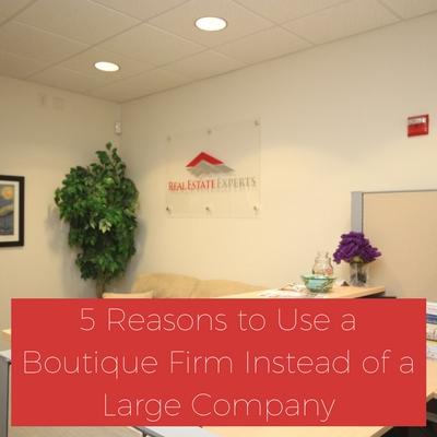 boutique real estate firm